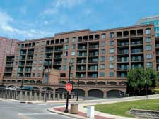 River Bend Condos with River Views Balconies Garage Parking Downtown Cleveland Ohio for Sale