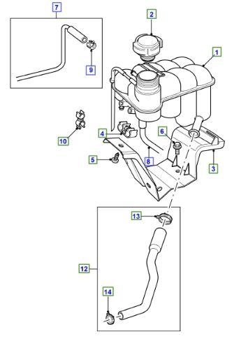 2000 Land Rover Discovery 2 Wiring Diagram furthermore 2003 Mitsubishi Galant Water Pump Diagram besides Expansion tank  header tank  range rover p38 furthermore Fuse Box Diagram For 1994 Ford Mustang 3 8l additionally Windshield Seal Lower Tr4 To Tr6 Spitfire 62 To 70 Gt6. on land rover discovery thermostat